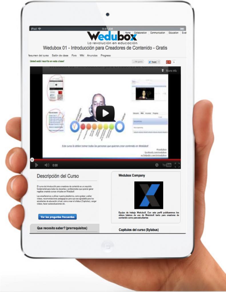 Concurso WeduboX para docentes entregará 2 iPads minis en enero 2013