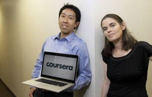 Los fundadores de Coursera