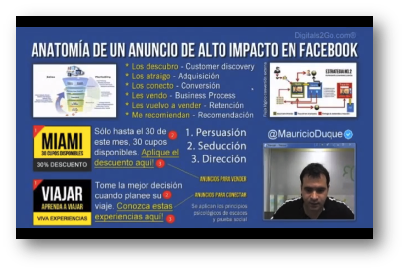 curso en linea marketing en facebook y redes sociales wedubox