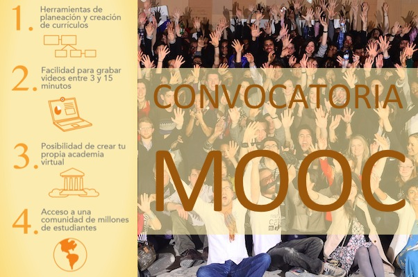 convocatoria MOOC colegios universidades ong instituciones educativas